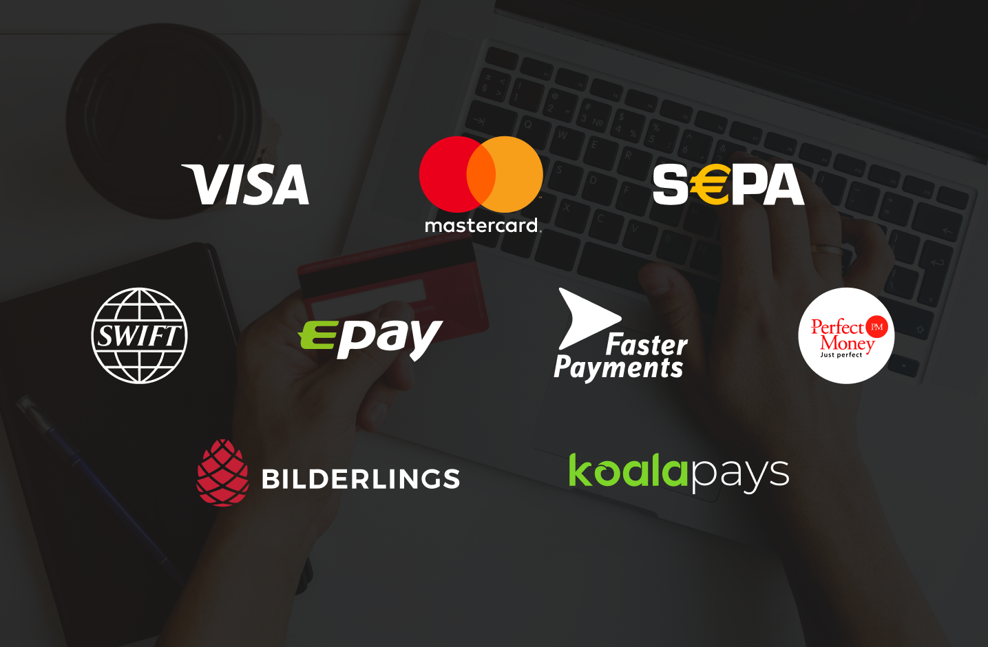 Fast and easy deposits & withdrawals